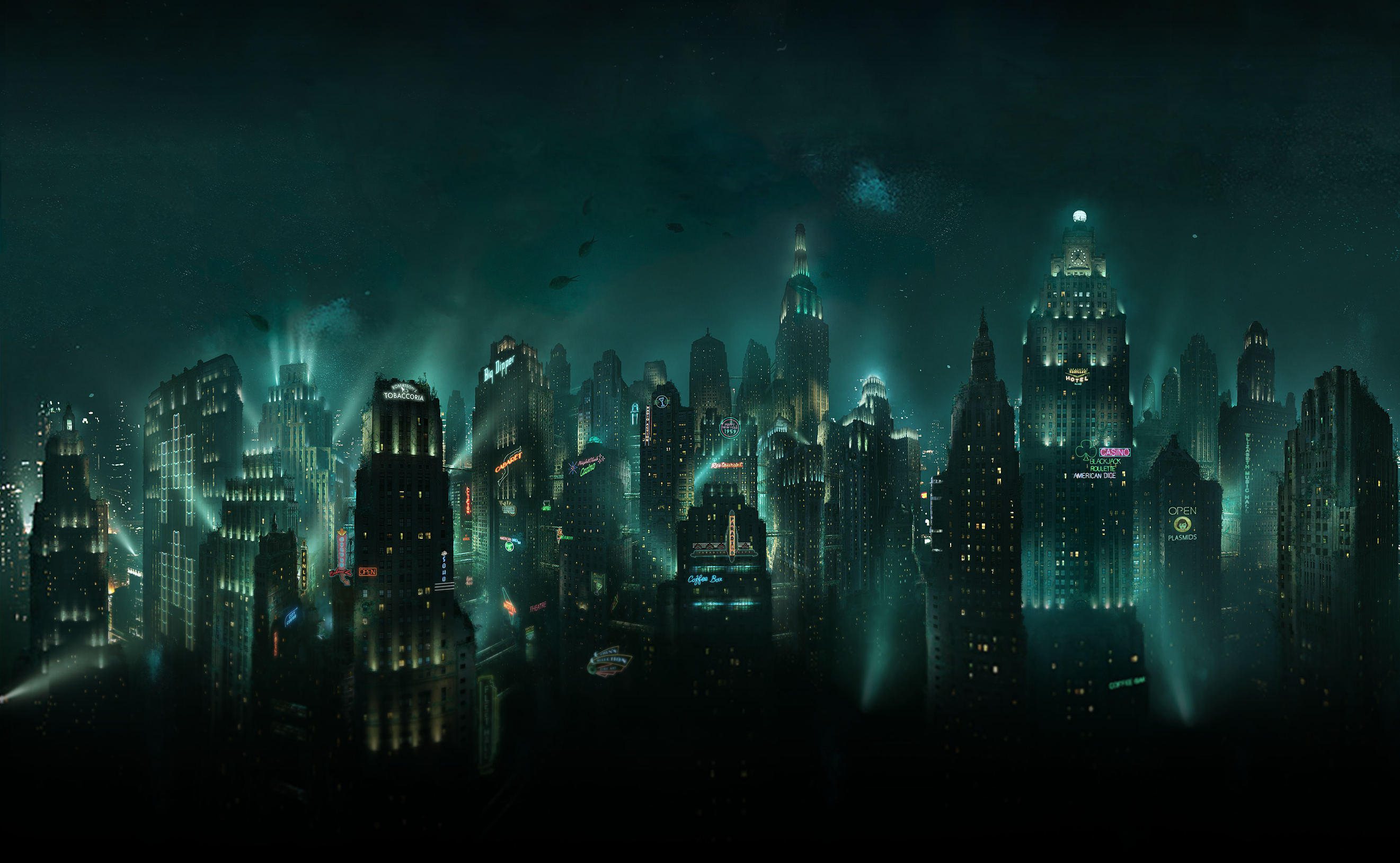 Bioshock Rapture wallpaper 48348 2642x1629