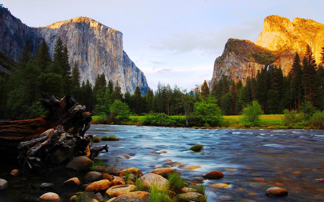 Yosemite National Park Wallpapers HD 1280x800