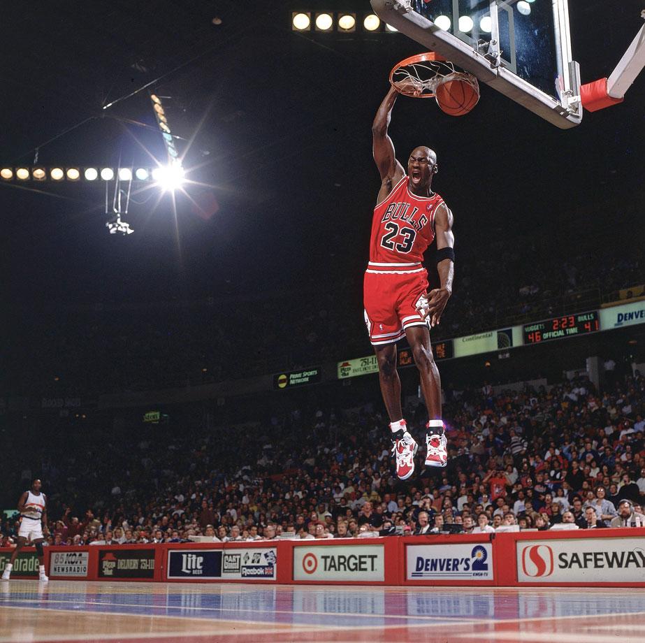 [19+] Michael Jordan Wallpaper Free Throw Dunk On