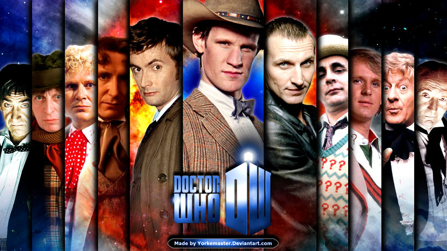 Doctor Who Wallpaper All Doctors Doctor who by yorkemaster 900x506