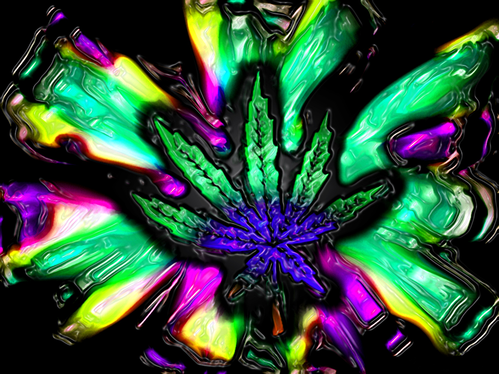 Marijuana images Trippy wallpapers wallpaper photos 843334 1024x768