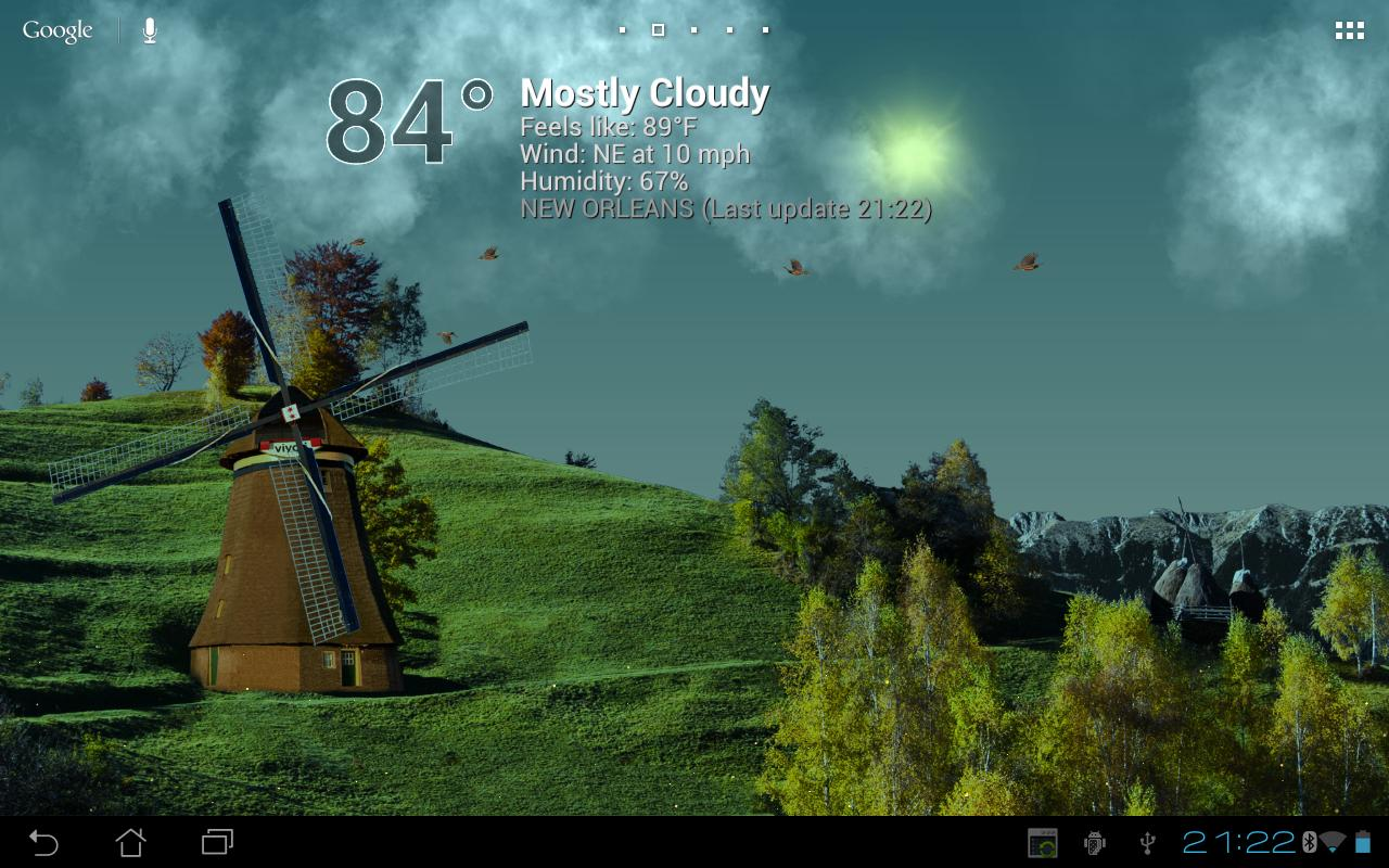 50+ Animated Weather Wallpaper for Android on ...