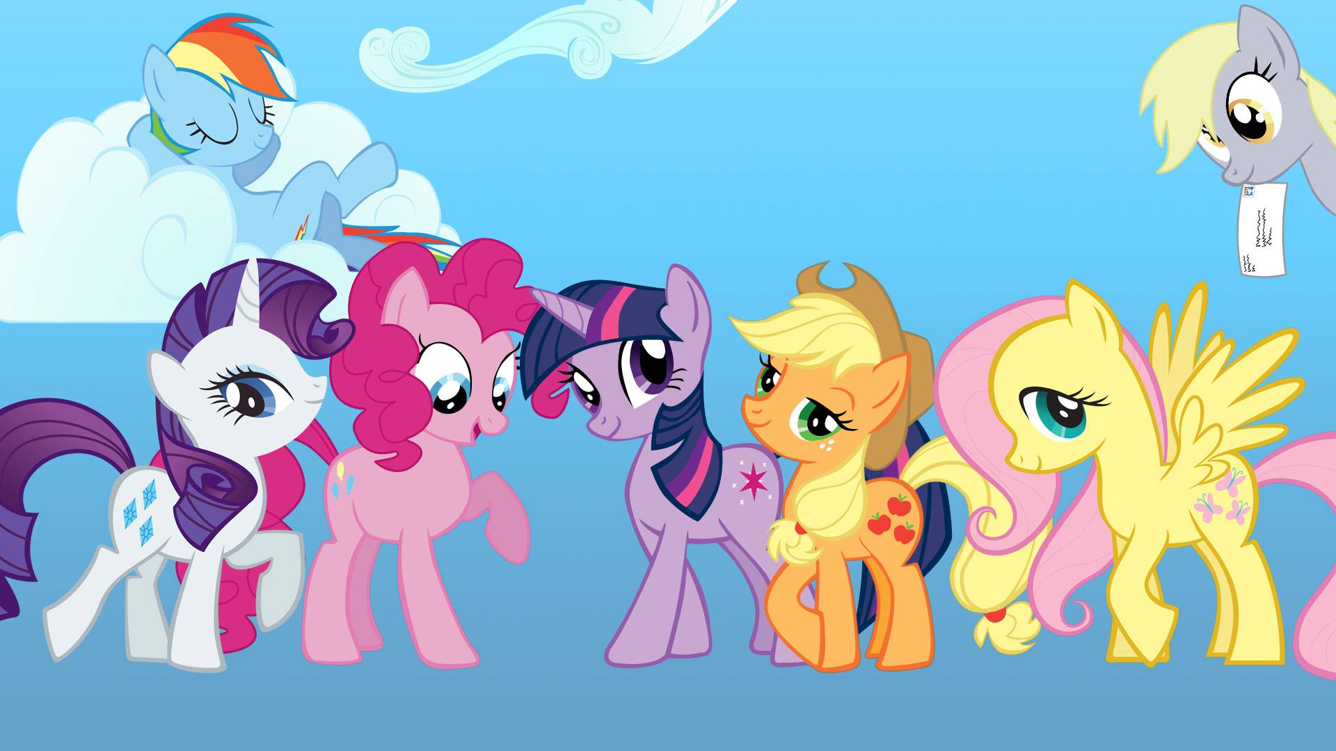 MLP   My Little Pony FIM Picture 1920x1080