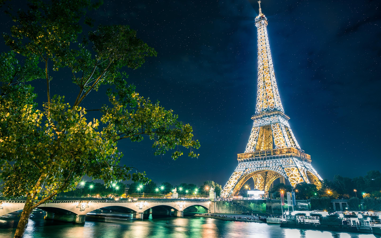 Paris Eiffel Tower Wallpapers HD Wallpapers 2880x1800