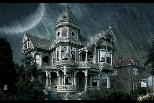 haunted house 1466x982 wallpaper Houses Wallpapers Desktop 600x401