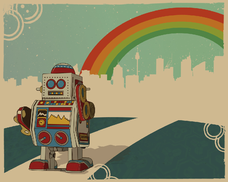 Vintage Robot Desktop Wallpaper Images Pictures   Becuo 800x639
