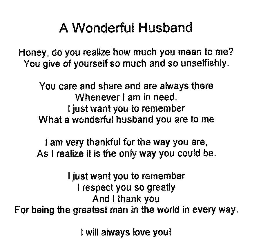 Quotes Pics on I Love My Husband Poems 900x855