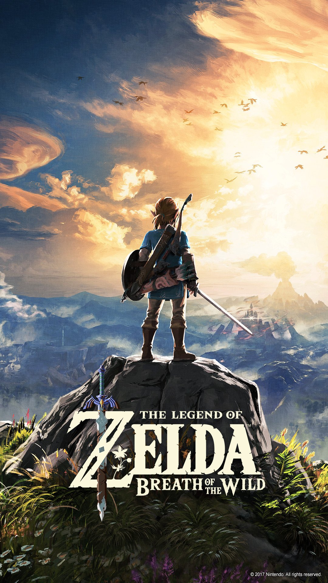 The Legend of Zelda Breath of the Wild for the Nintendo Switch 1080x1920