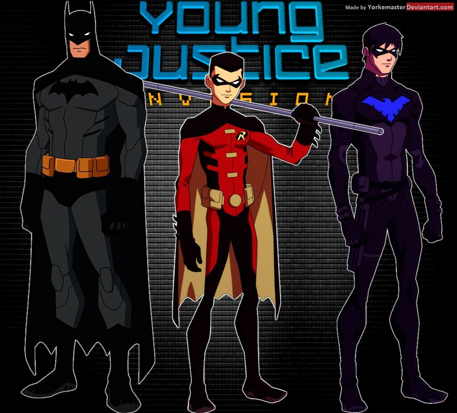 for kids nightwing wallpaper hd nightwing young justice costume 900x813