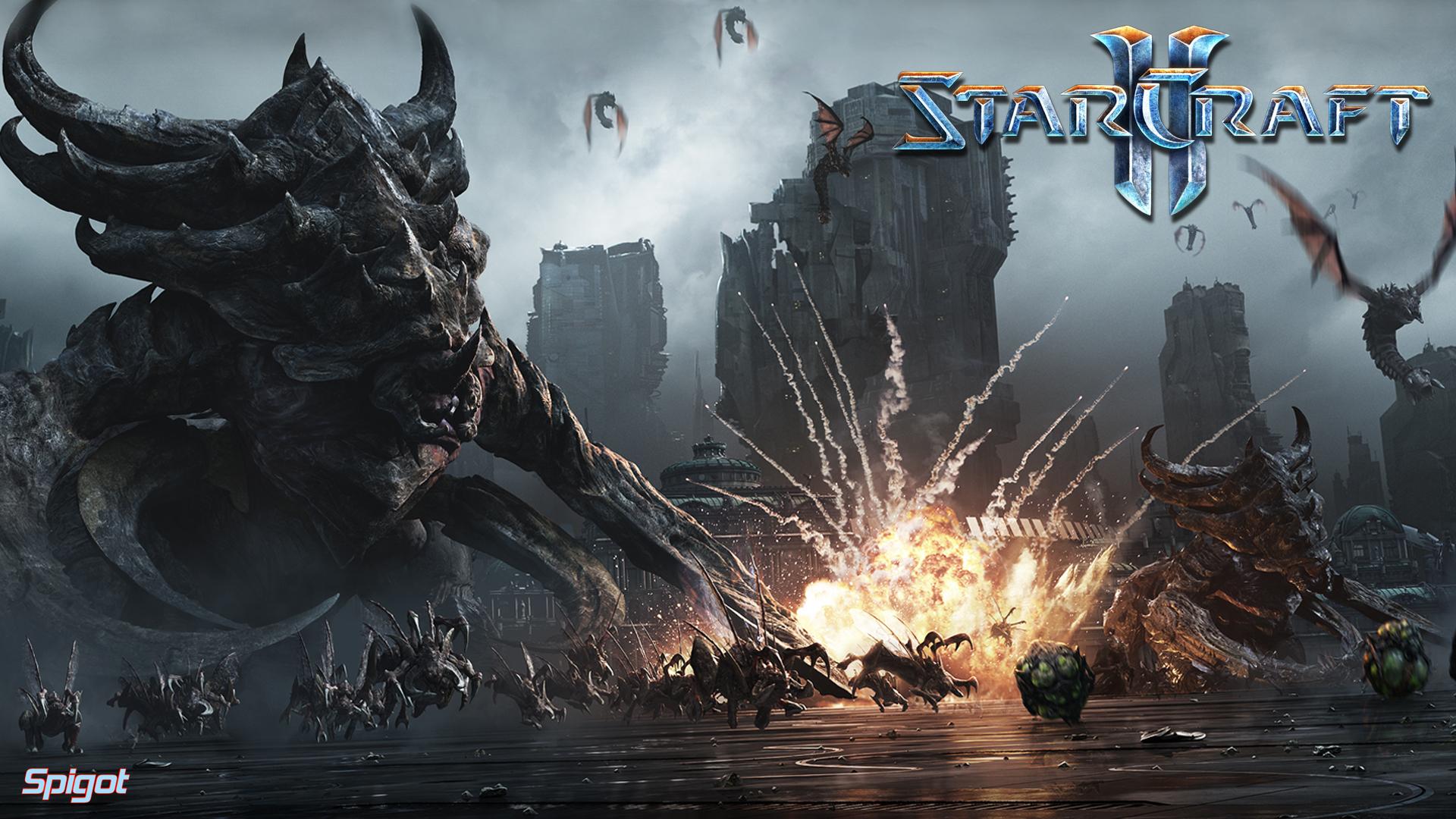 76] Starcraft2 Wallpaper on WallpaperSafari 1920x1080
