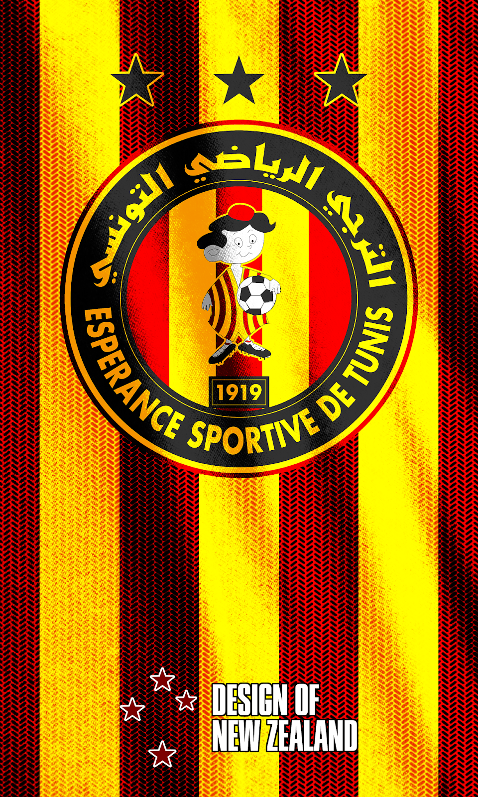 Wallpaper Esprance Sportive de Tunis soocer GOALLL Football 960x1600