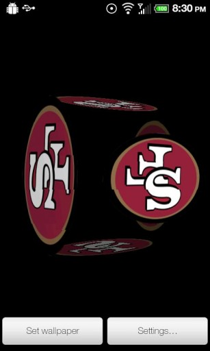View bigger   49ers Cube Wallpaper PRO for Android screenshot 307x512
