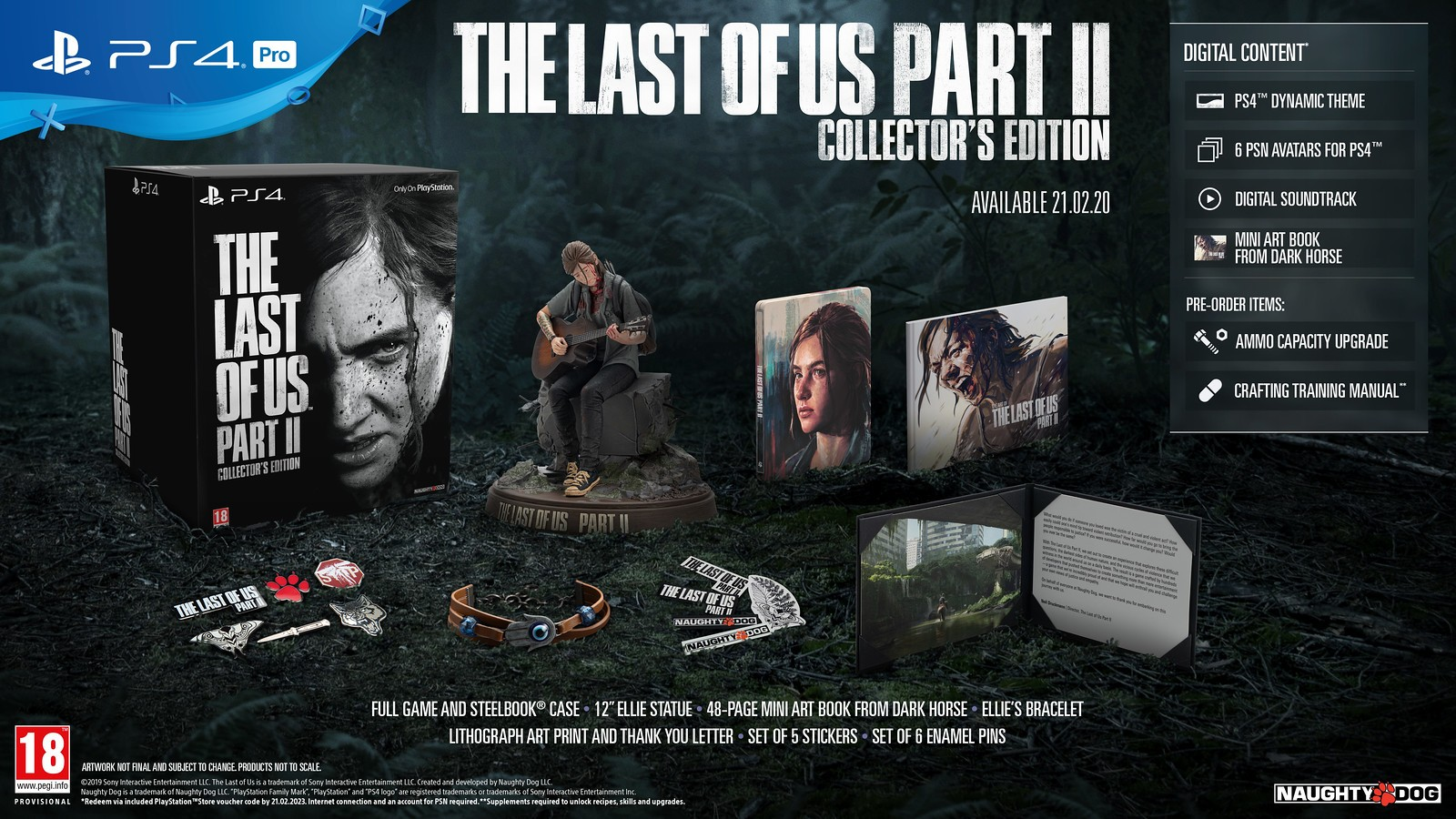 The Last of Us Part 2 Coming to PS4 on February 21 2020 1600x900