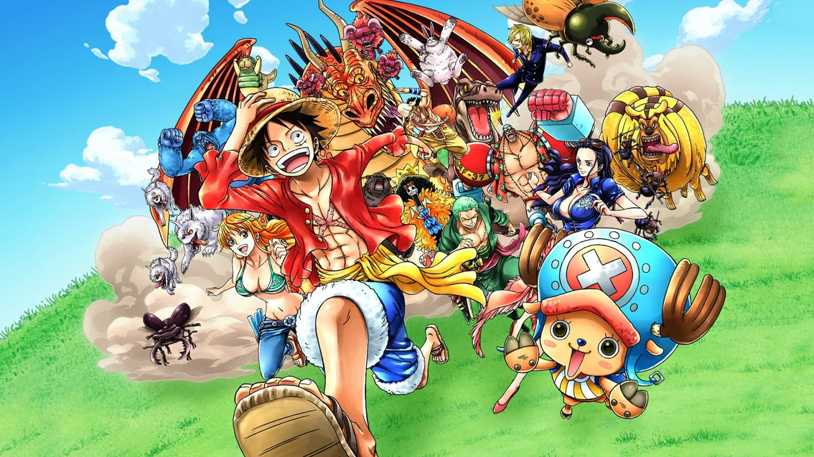 Free download One Piece HD Wallpaper Pack Manga Council 1600x900 for your Desktop, Mobile ...