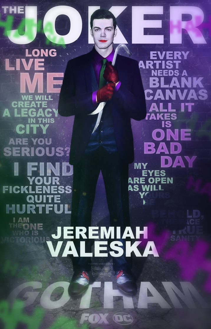 Jeremiah Valeska   The Joker by DigestingBat 716x1116