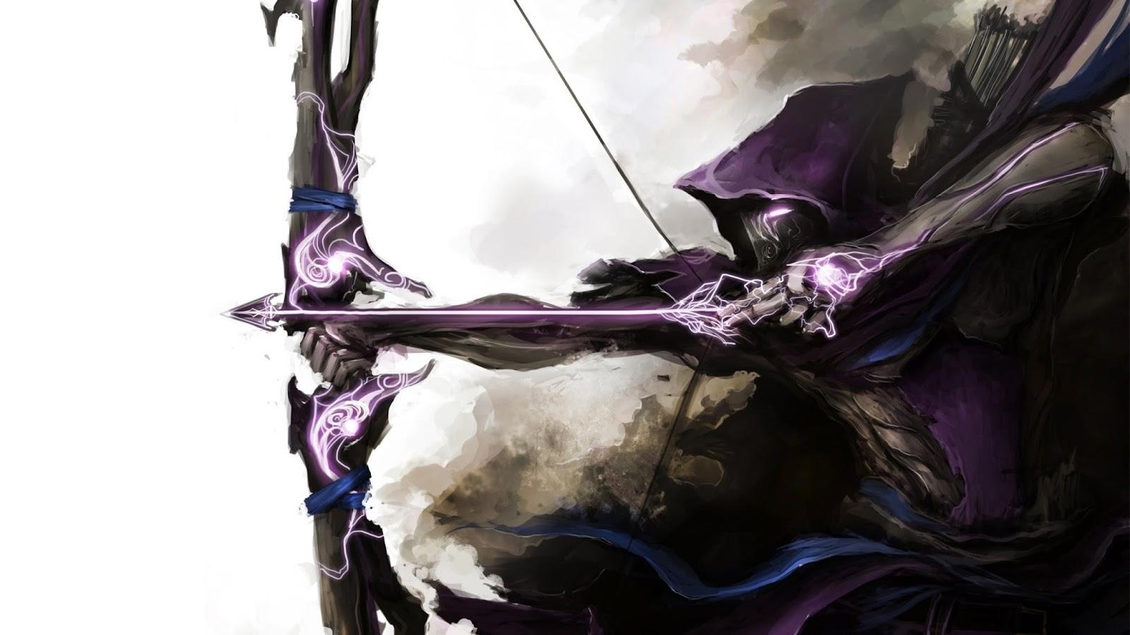 hawkeye arrows marvel bow weapon thedurrrrian deviant art HD Wallpaper 1600x900