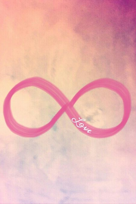 Infinity symbol | Super cute wallpaper for phone! | Pinterest