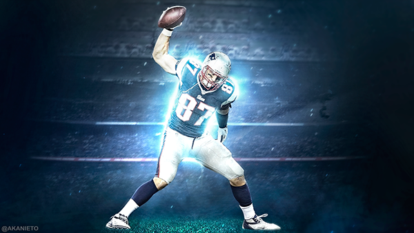 Sport Wallpaper Behance: Rob Gronkowski 2018 Wallpapers