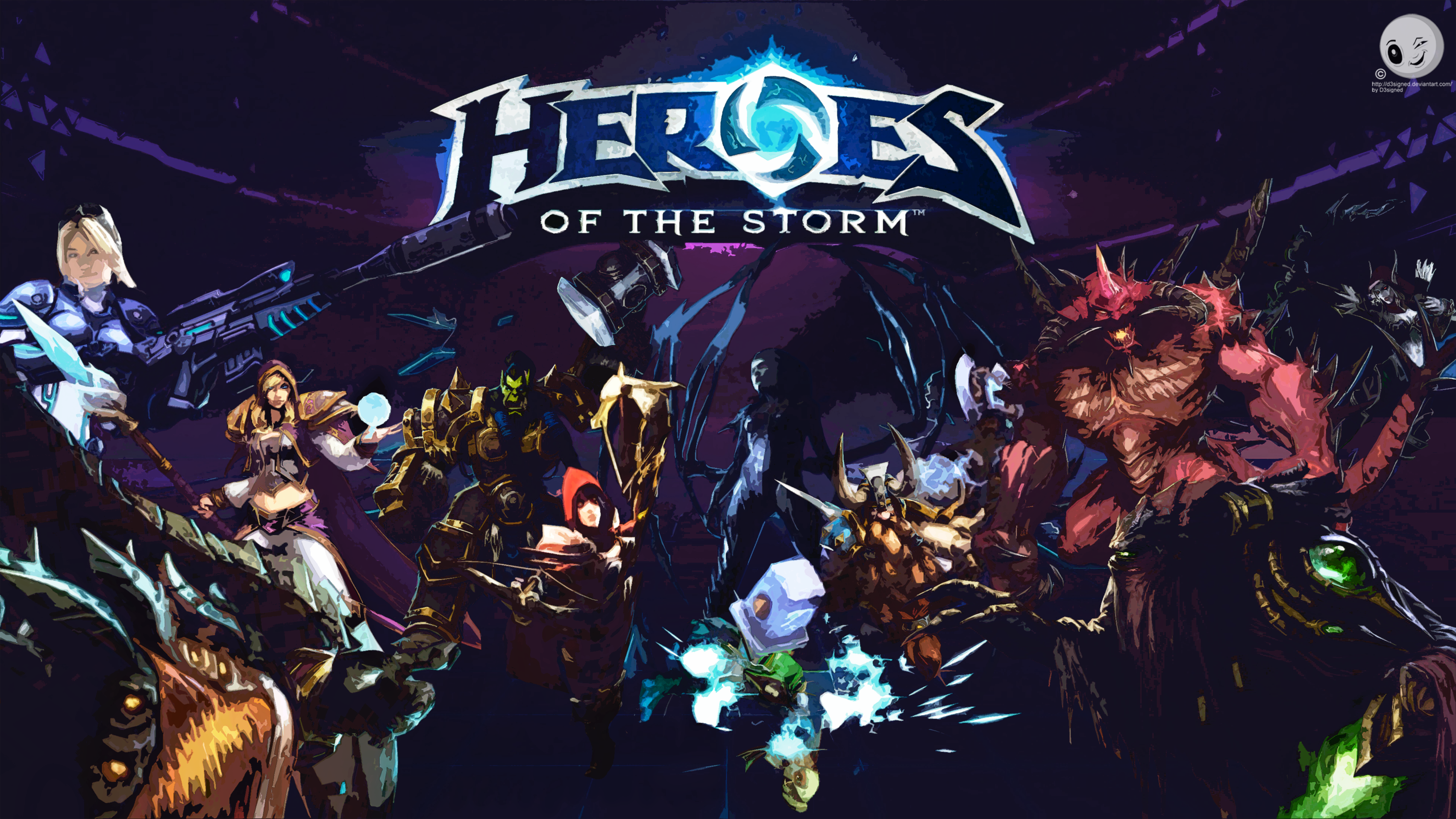 Free Download Heroes Of The Storm Wallpaper Fanart By D3signed
