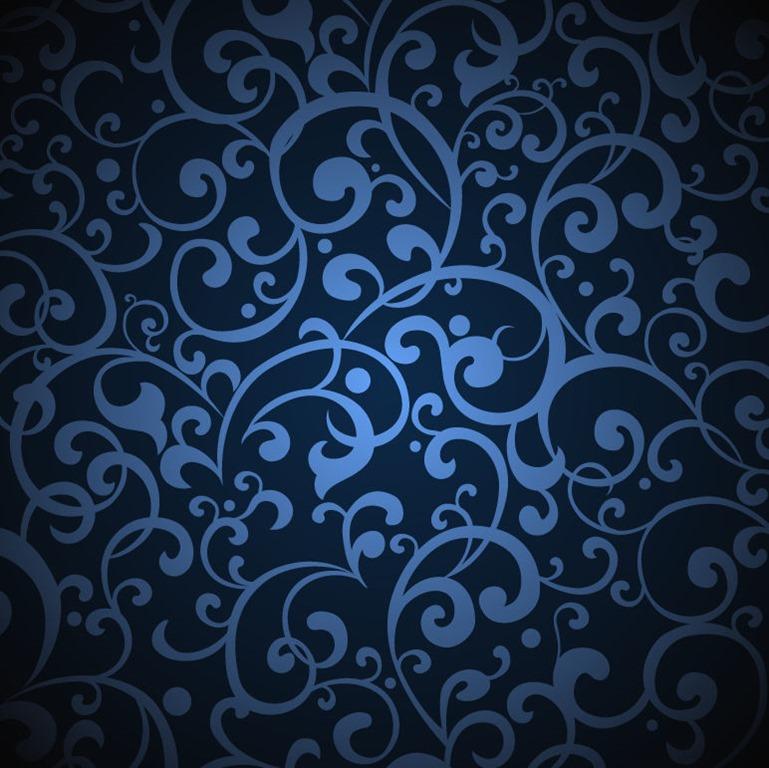 Vintage Blue Background Illustration Vector Graphic Vector 769x768