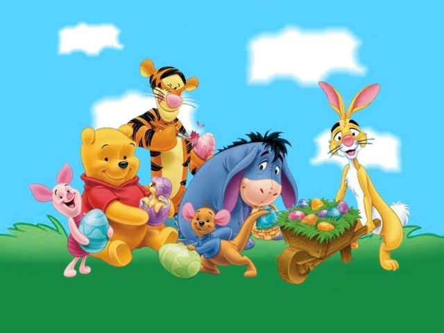 Disney Cartoons And Easter Party Funny Pictures 640x480