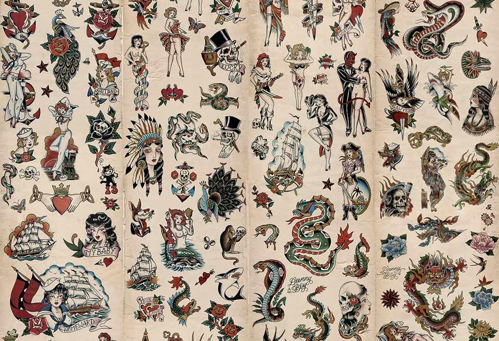 Tattoo Wallpaper by Cookie Bros LumberJac 980x670