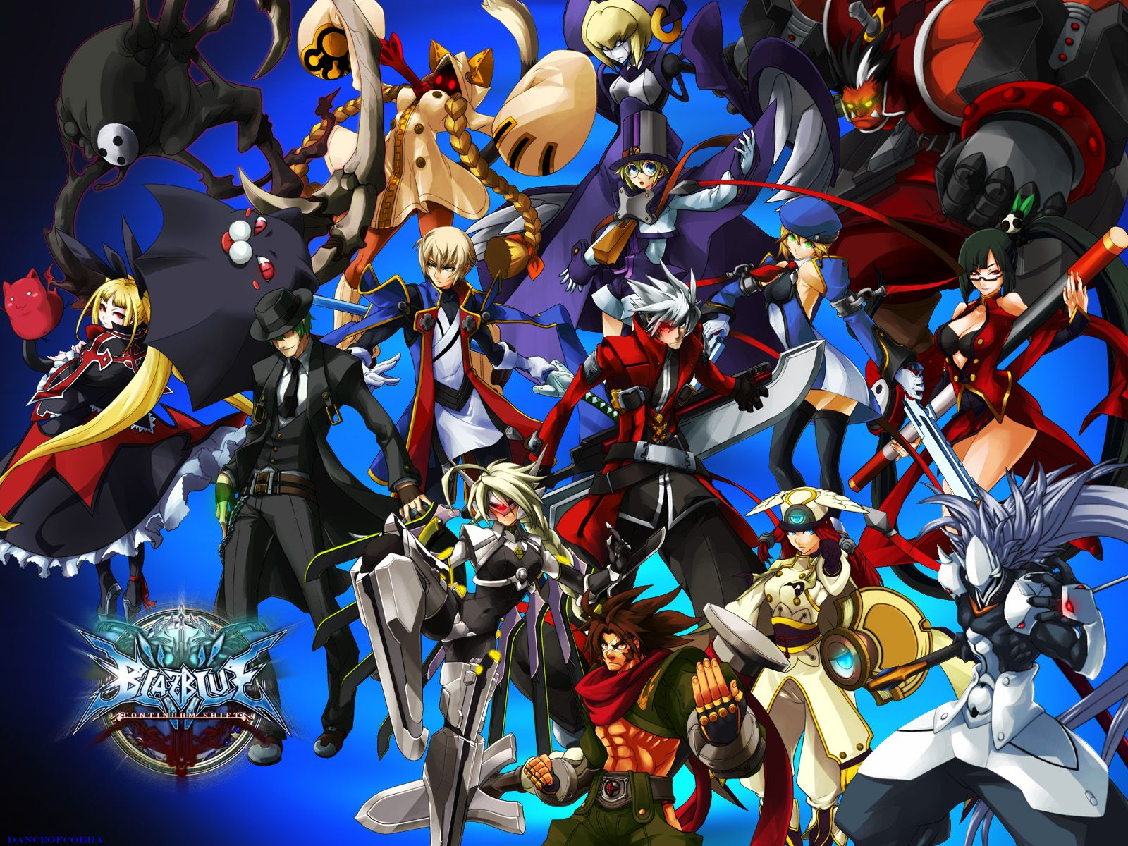 Free Download Games Blazblue Continuum Shift Desktop Wallpaper Nr