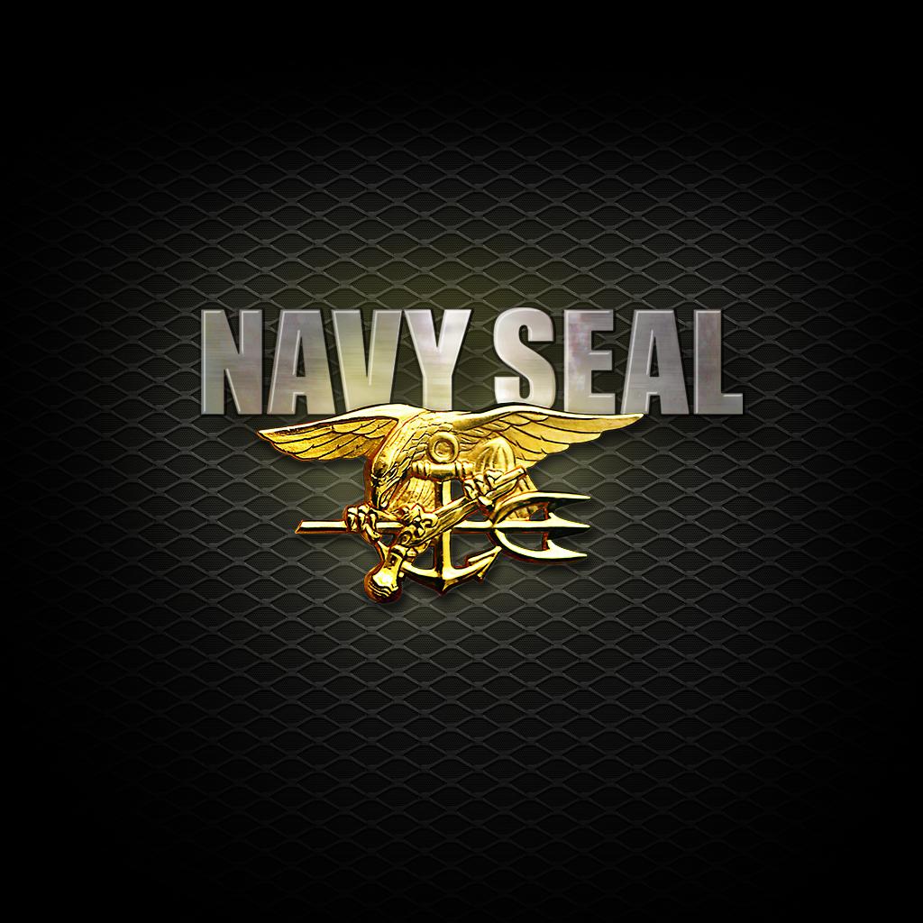 Navy Seal Logo Wallpaper 1024x1024