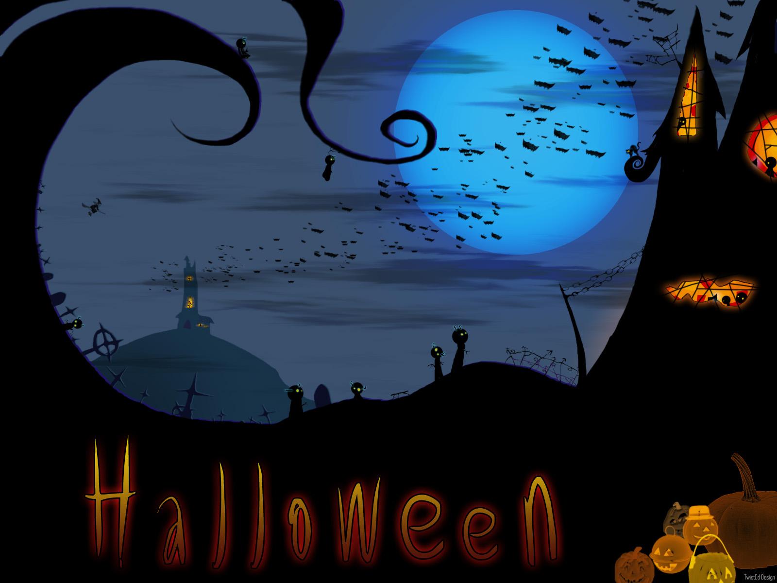 30 Scary Halloween Desktop Wallpapers Best Design 1600x1200
