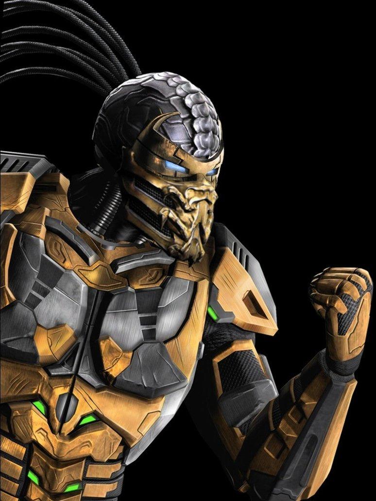 Scorpion Cyborg mortal kombat by corporacion08 774x1032