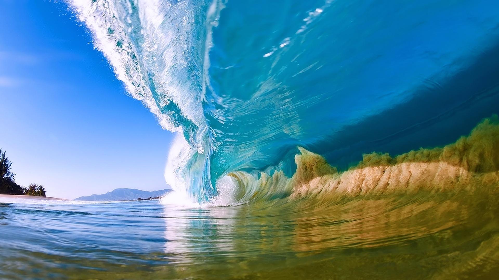 Download Natural Summer Ocean Wave Desktop HD Wallpaper Search more 1920x1080