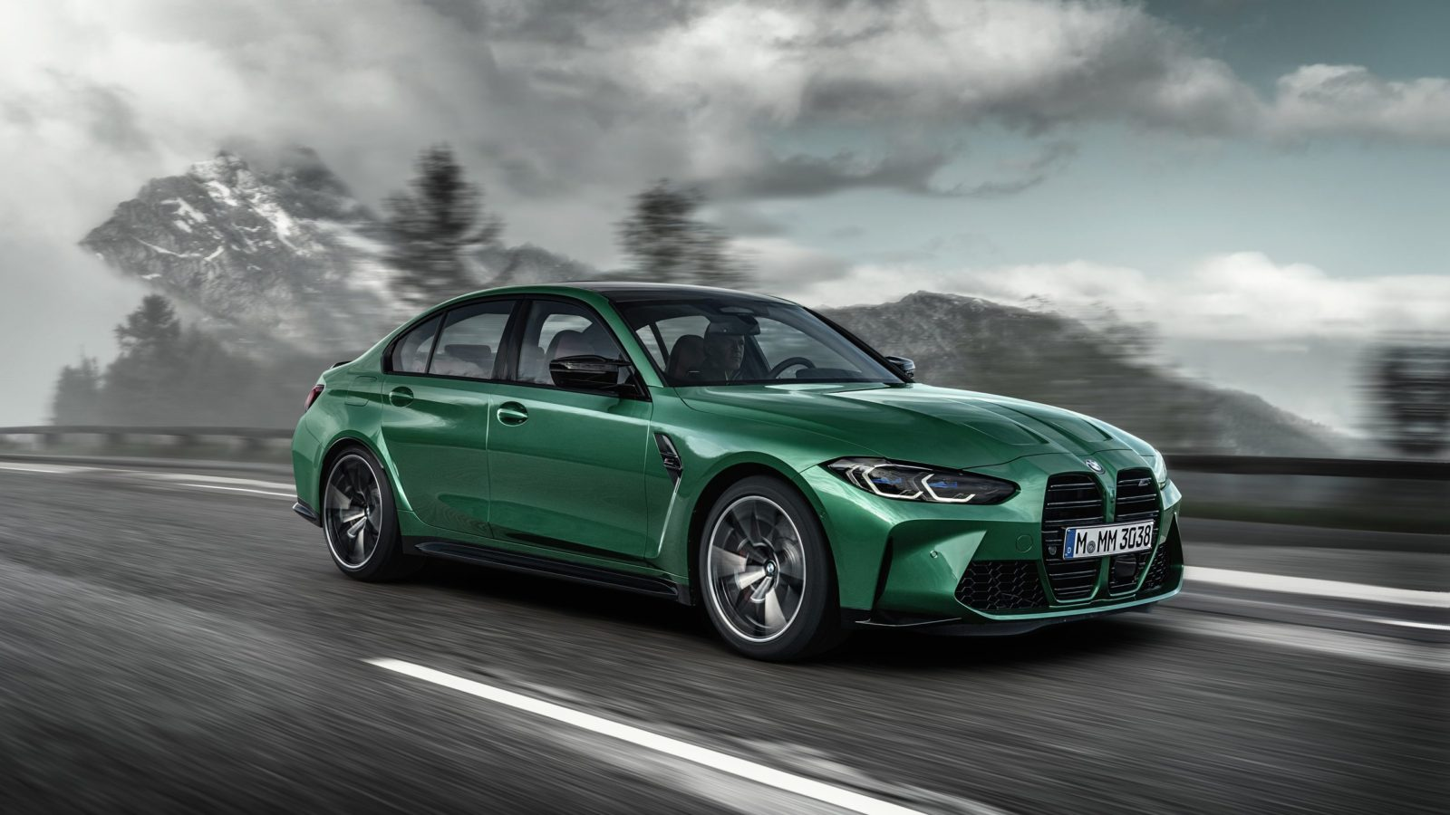 2021 BMW M3 Competition Wallpapers VirusCars 1600x900