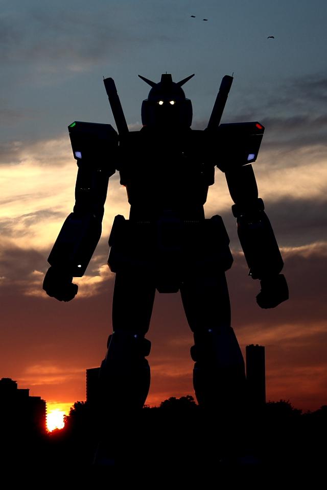 Gundam iPhone Wallpaper 640x960