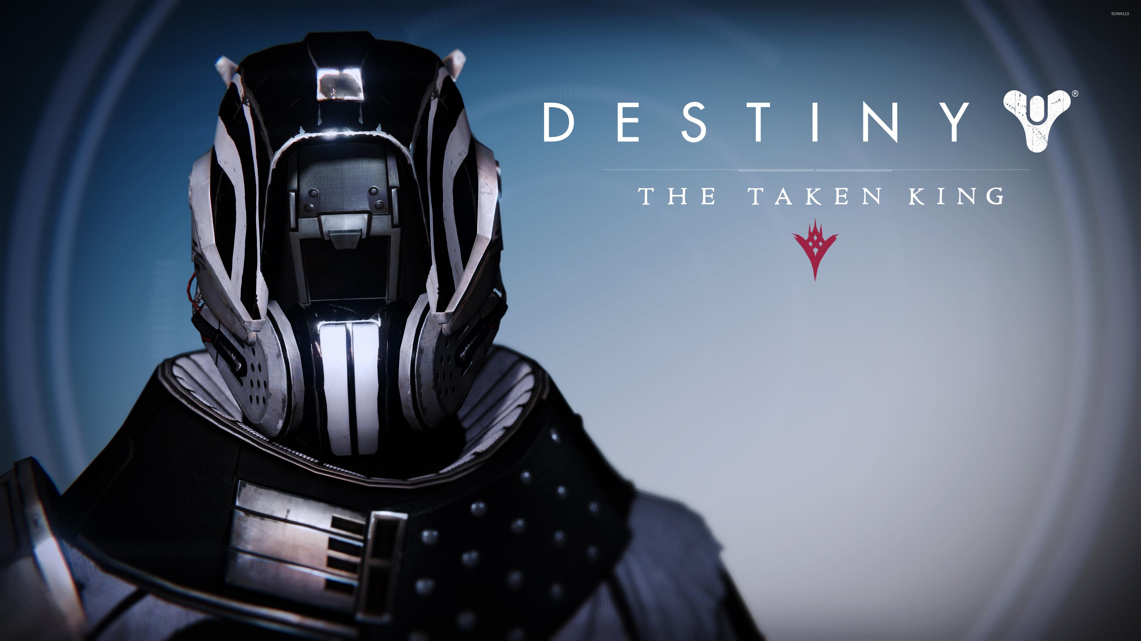 Dead Orbit Warlock male helmet   Destiny The Taken King wallpaper 3840x2160