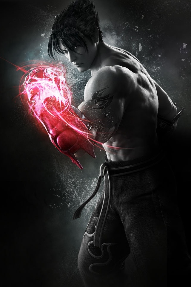 Free Download Jin Tekken Tag Tournament 2 Iphone 4 Wallpaper And