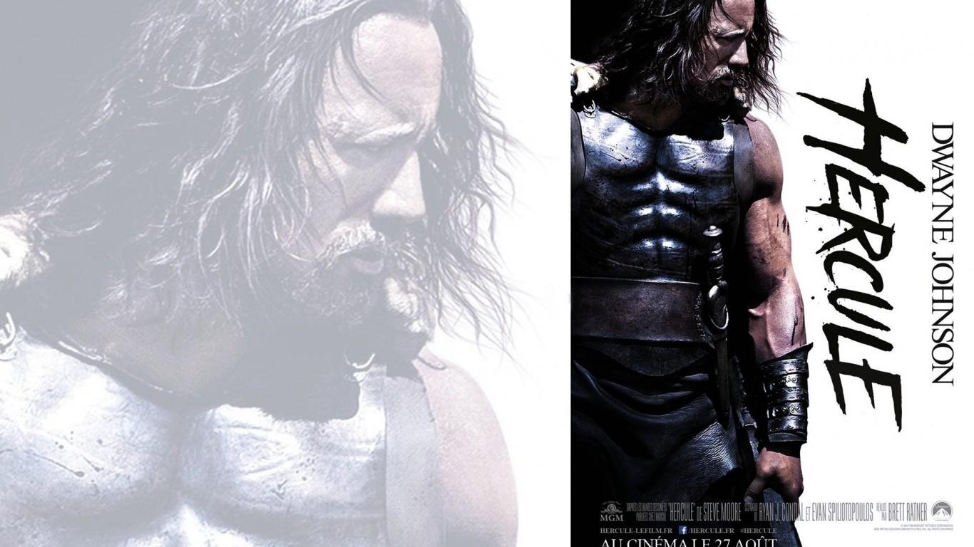 Hercules Retina Movie Wallpaper: Dwayne Johnson Hercules Wallpaper