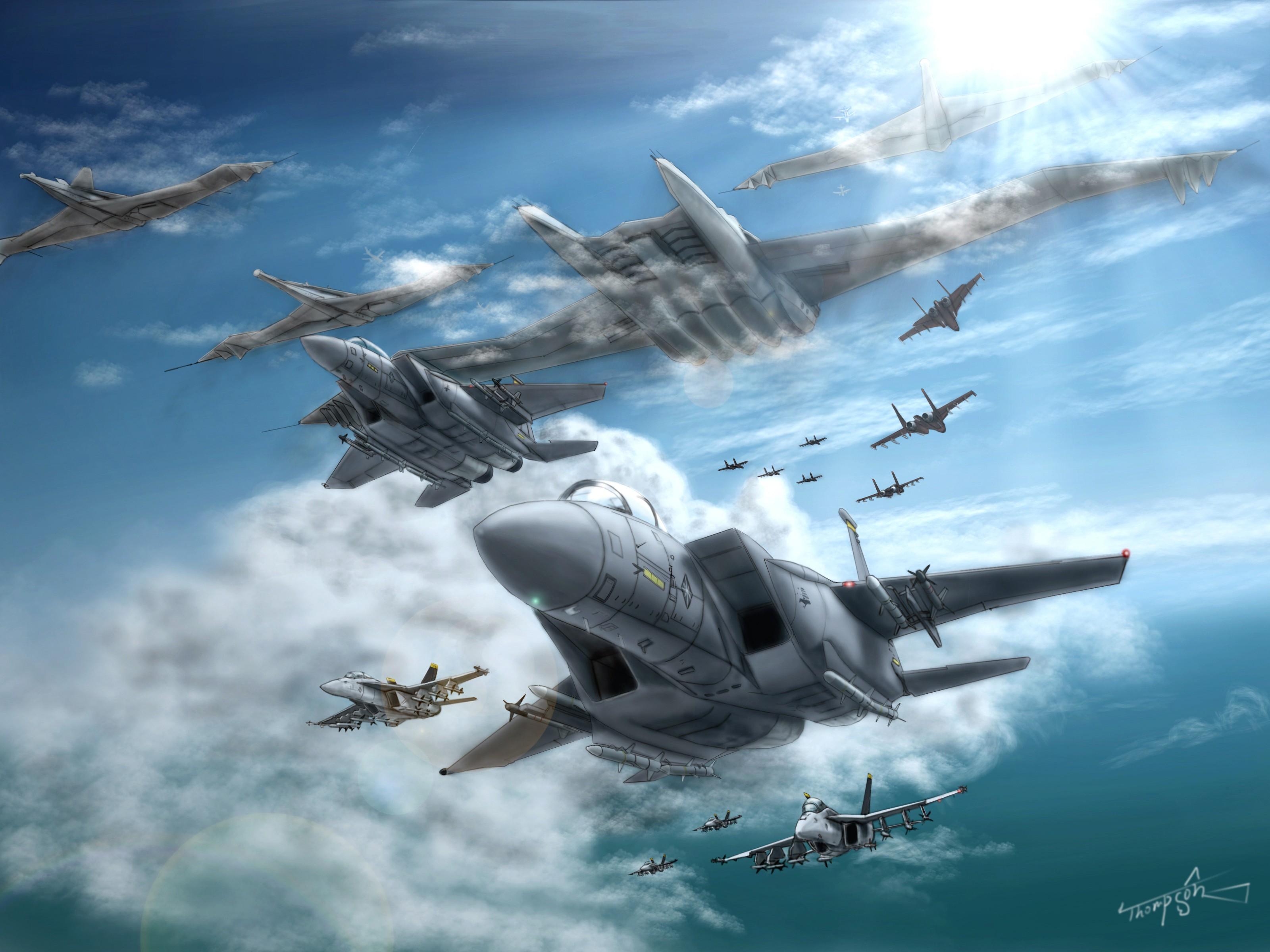 Video Game   Ace Combat Wallpaper 3200x2400