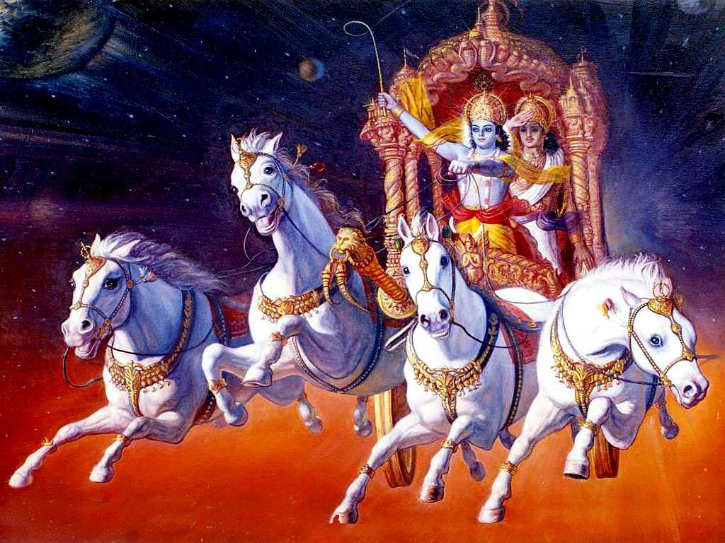 Pics Photos   Wallpaper Krishna Bhagavad Gita Hd Wallpapers 1024x768