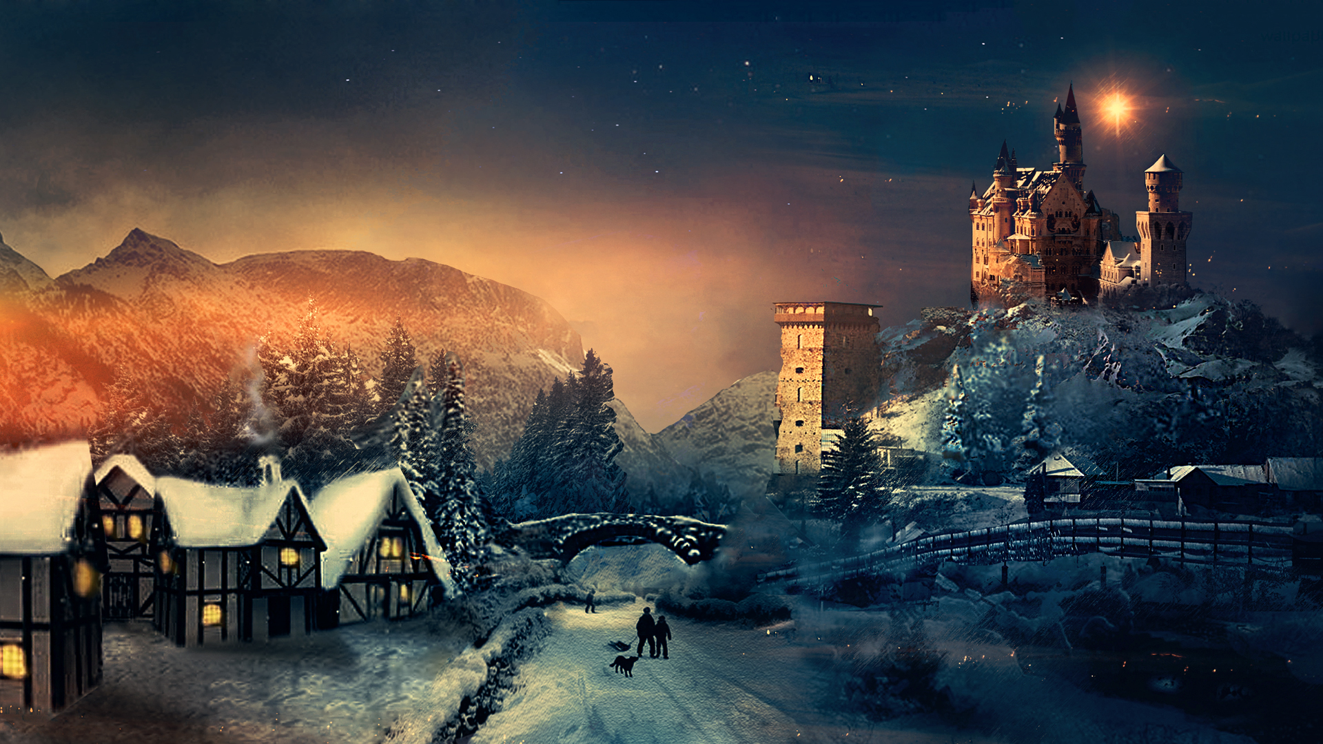 Christmas Winter Wallpapers HD Wallpapers 1920x1080
