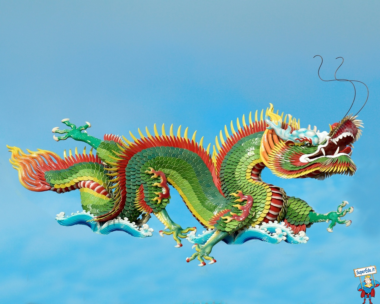 Wallpapers Various Wallpapers Chinese Dragon Wallpapers 6 1280x1024