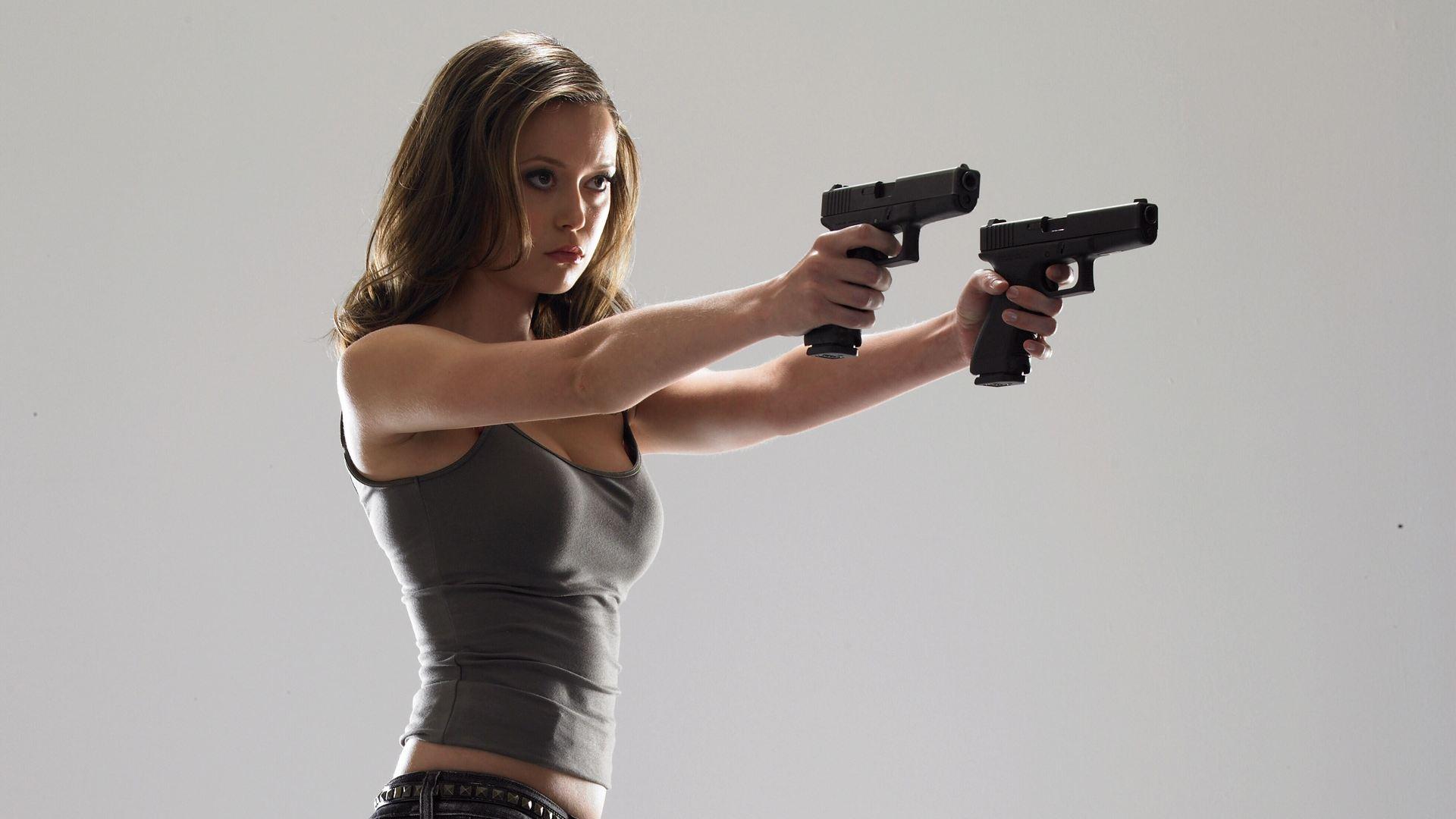 Weekend Woman 21 Summer Glau A Man a Dog and a Gun 1920x1080