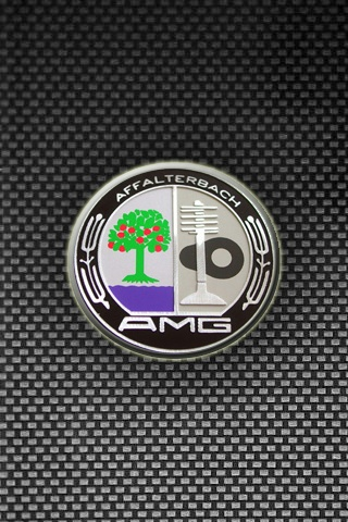 AMG Logo iPhone Wallpaper and iPod touch Wallpaper 320x480