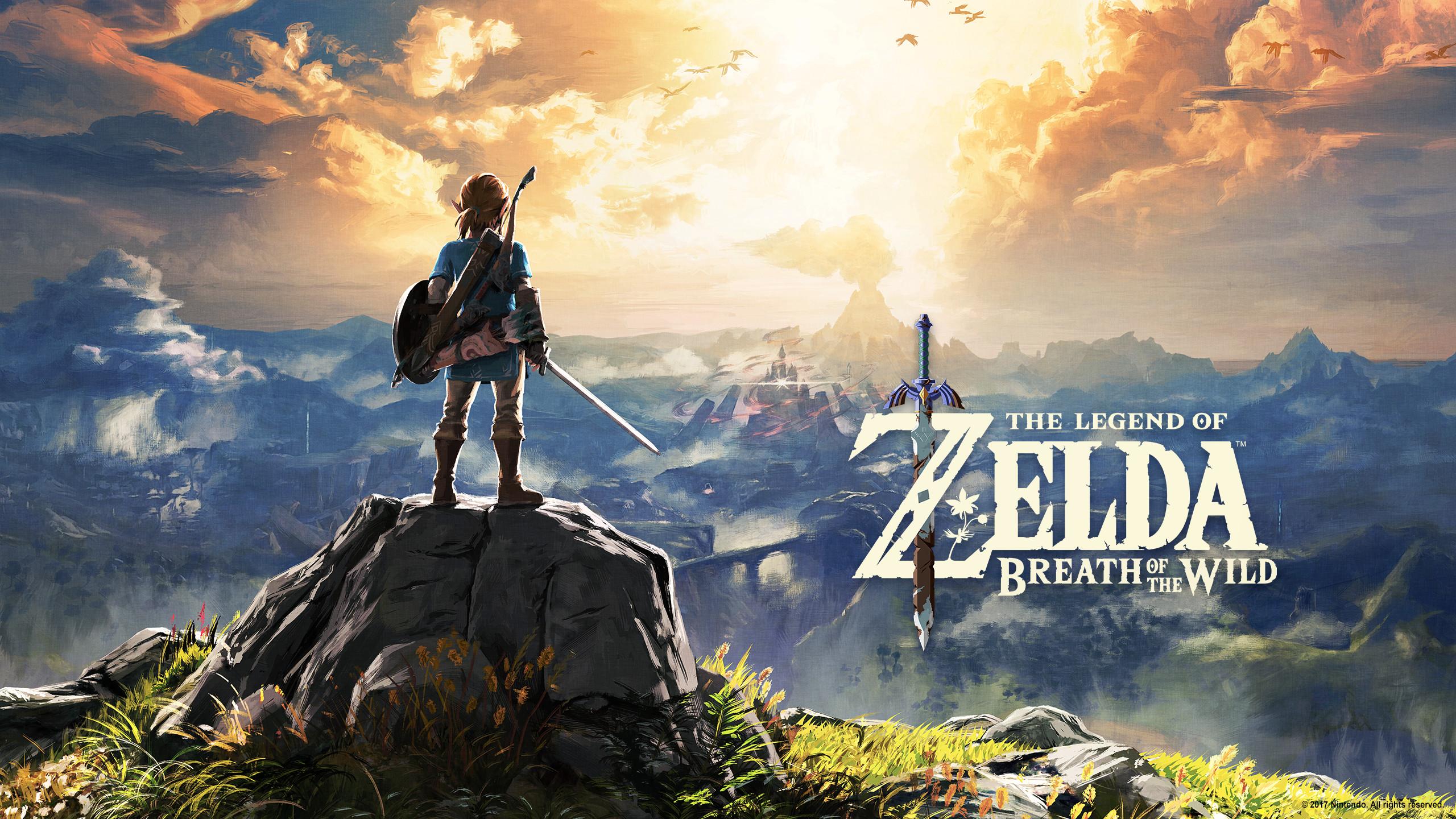 Steam Workshop Legend of Zelda Breath of the Wild 2560x1440