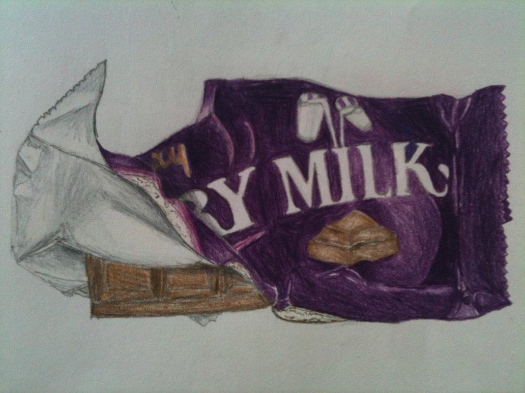 Dairy Milk Chocolate by kuzthekillakan 1032x774
