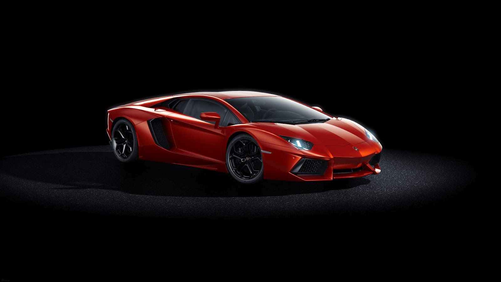 1600x900 Black And White Wallpapers: Red Ferrari Sports Car Wallpaper