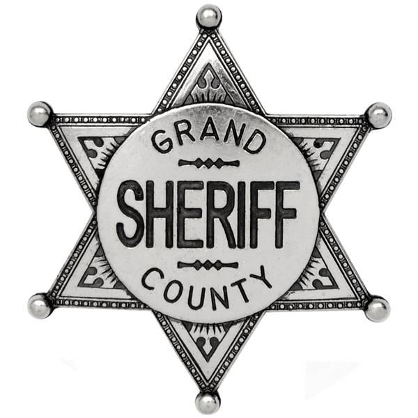 Go Back Gallery For Sheriff Badge Wallpaper 600x600