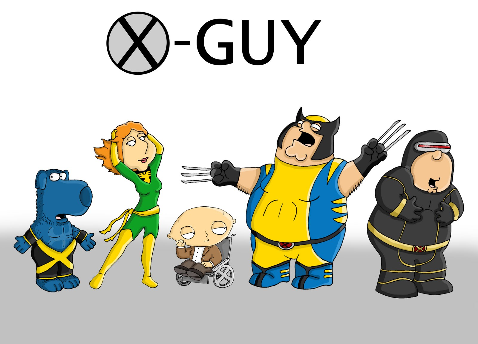 Family Guy X Men Final Image 1600x1152