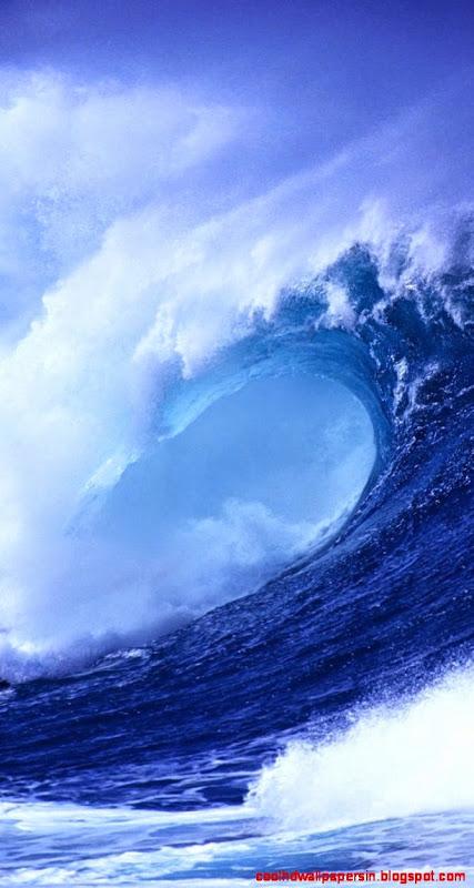 Wallpapers For gt Ocean Waves Iphone 5 Wallpaper 427x800