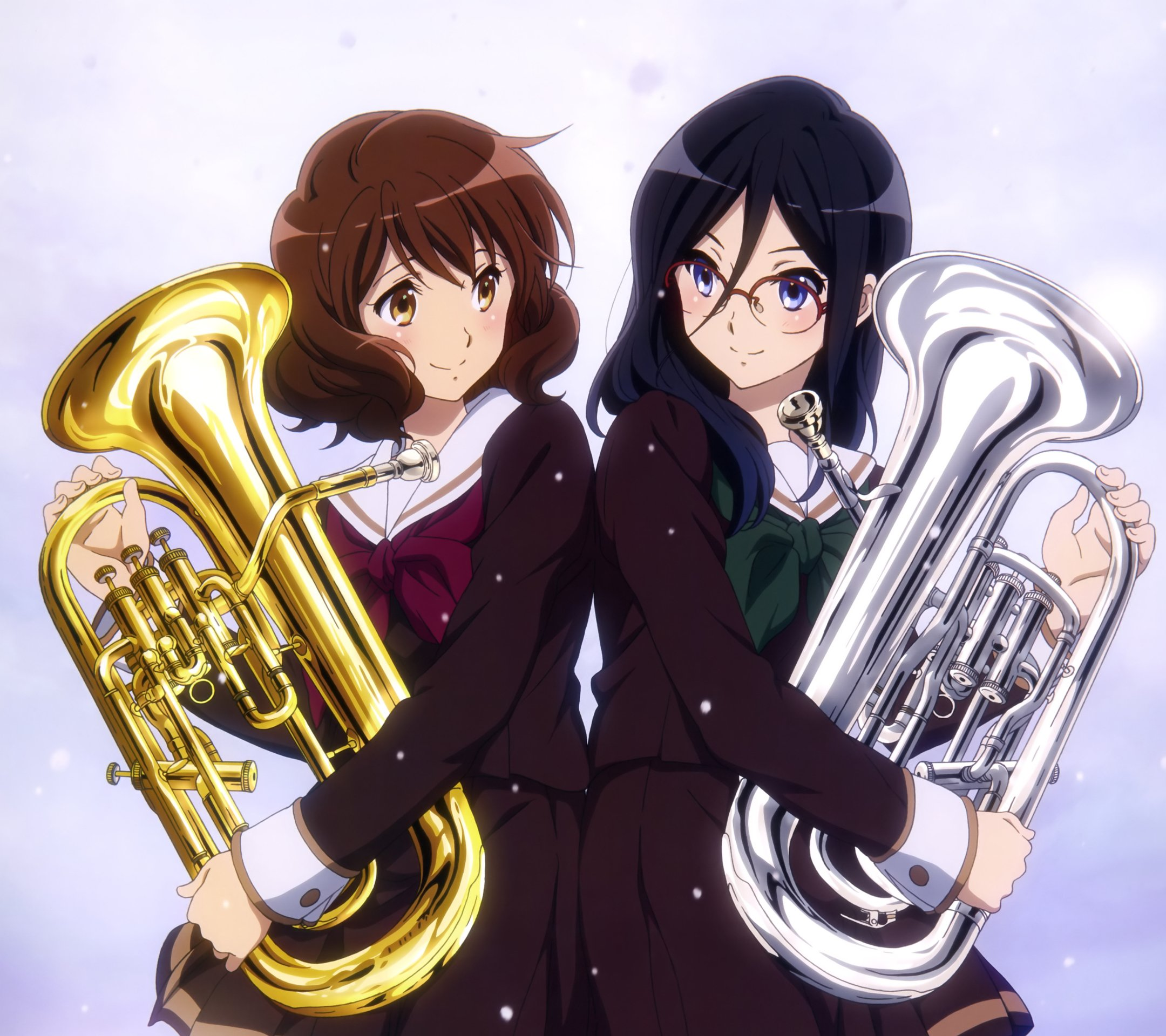 Sound Euphonium anime iPhone wallpapers 2160x1920