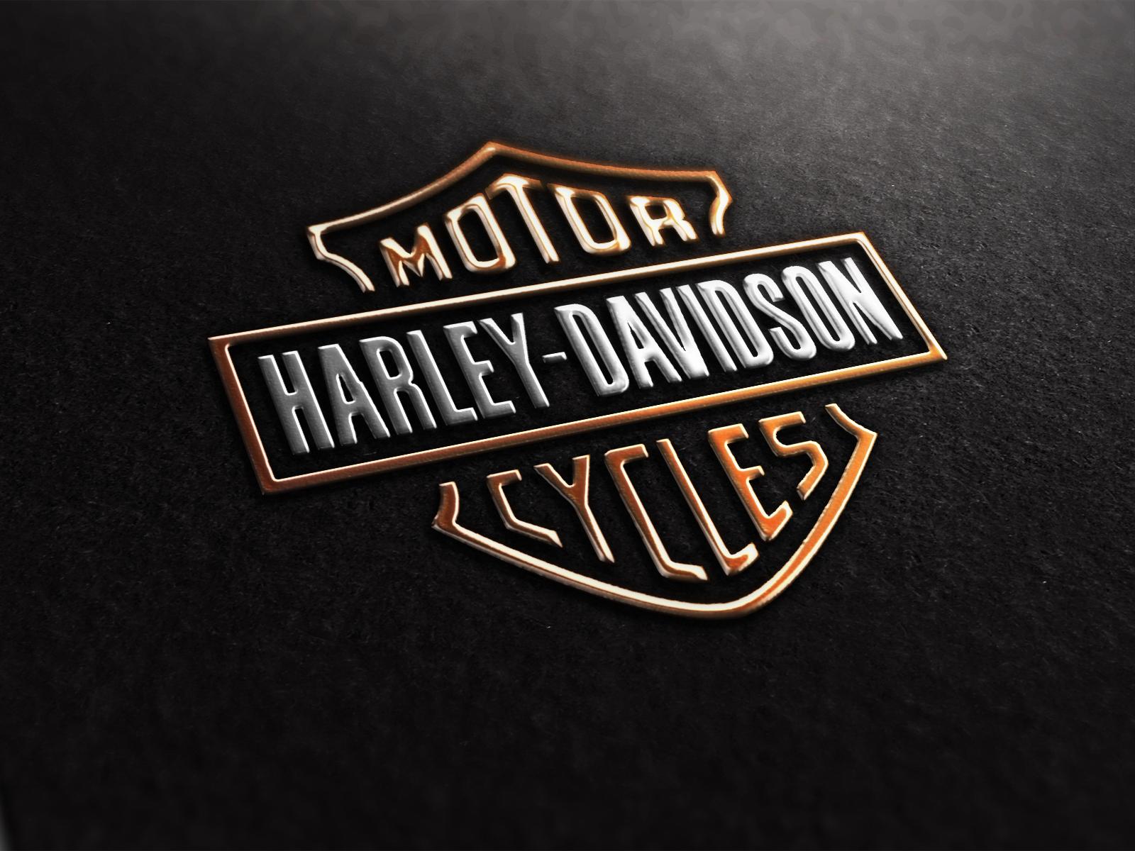 Harley Davidson Logo wallpapers Harley Davidson Logo stock photos 1600x1200